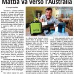 Mattia va verso Australia